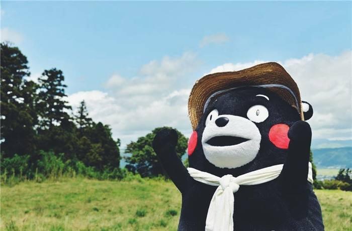 日本熊本县吉祥物熊本熊(资料图)