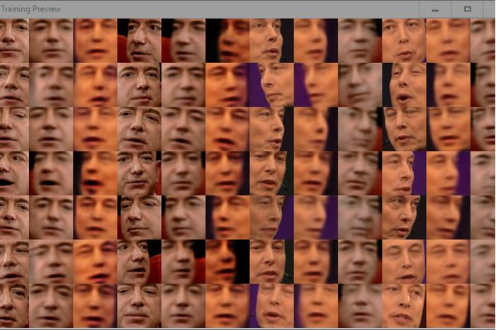 [图]AI是怎么合成的?我把贝佐斯的脸换成了伊隆·马斯克