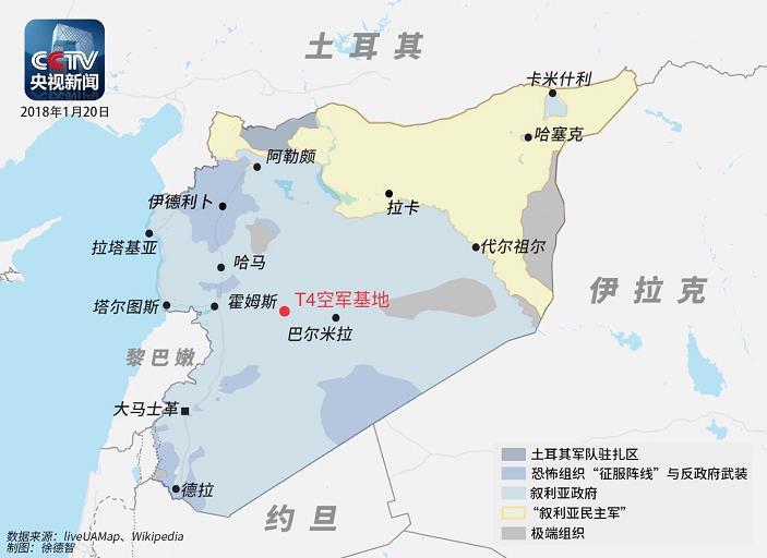 叙媒:叙利亚防空导弹击落至少一架以色