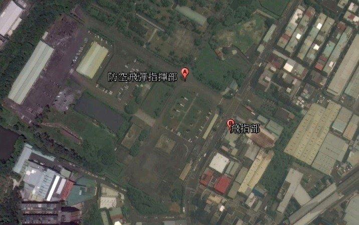 台湾导弹指挥部地址被一款美国健身APP曝光。(图片来源:台湾联合新闻网)