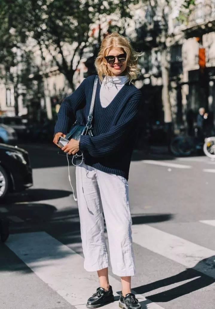 偷偷告诉你,现在最时髦的人都是穿半高领的
