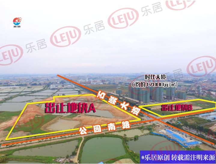 石碣最新城区规划图