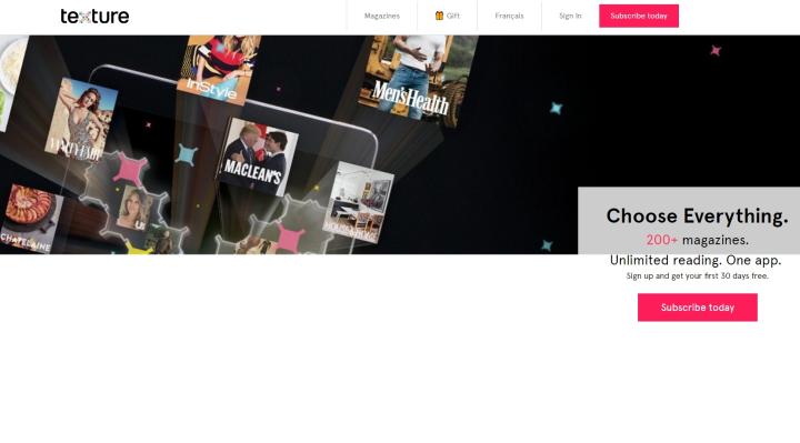 苹果全资收购在线杂志Texture 加强内容产出