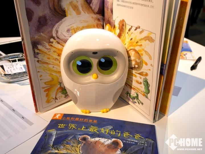 物灵科技携超萌绘本阅读机器人Luka登陆CES