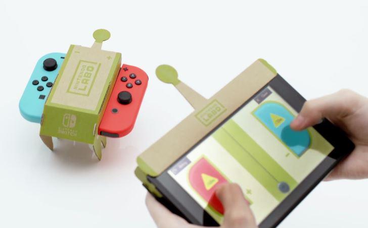 """任天堂的纸模拼装与游戏结合,""""过时""""技术的当下""""利用"""""""