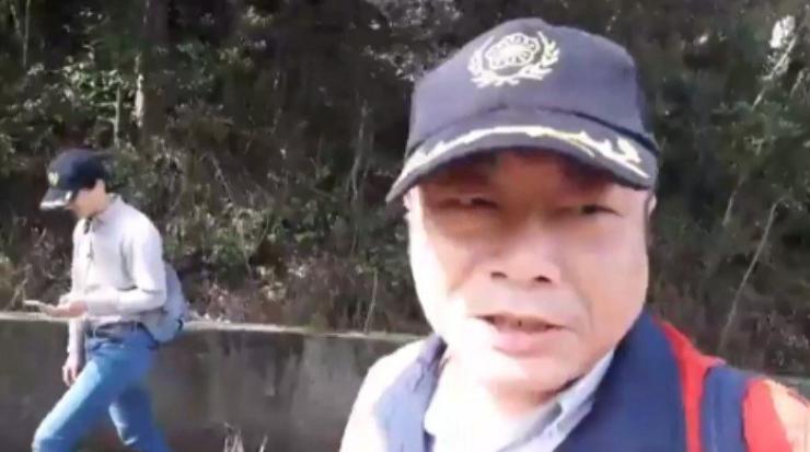 台北市前议员李承龙(图来自台湾联合新闻网)
