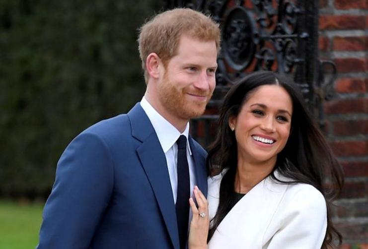 英国哈里王子和未婚妻梅根