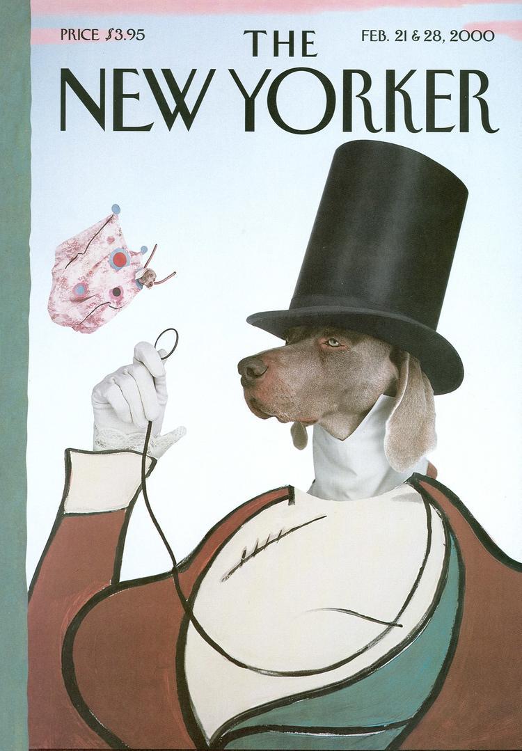 """《纽约客》93 周年纪念刊的封面,又出现了那个""""大人物"""""""