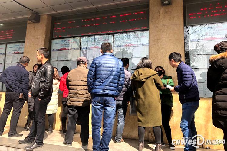 节后西安劳务市场供需两旺 求职者不只看重工资待遇