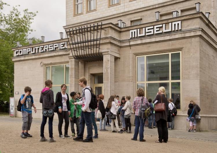 柏林游戏博物馆之外