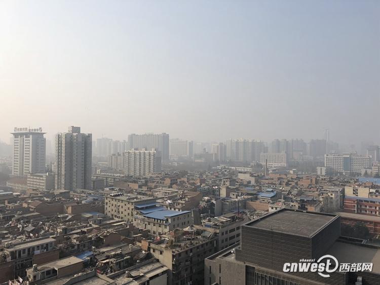 陕西关中地区雾霾天气还将持续 西安为重度污染