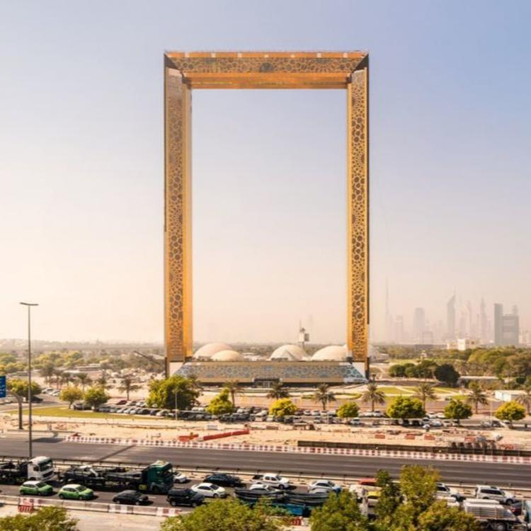 """迪拜一幢建筑引发争议,并不仅仅因为它长得像个""""画框"""""""