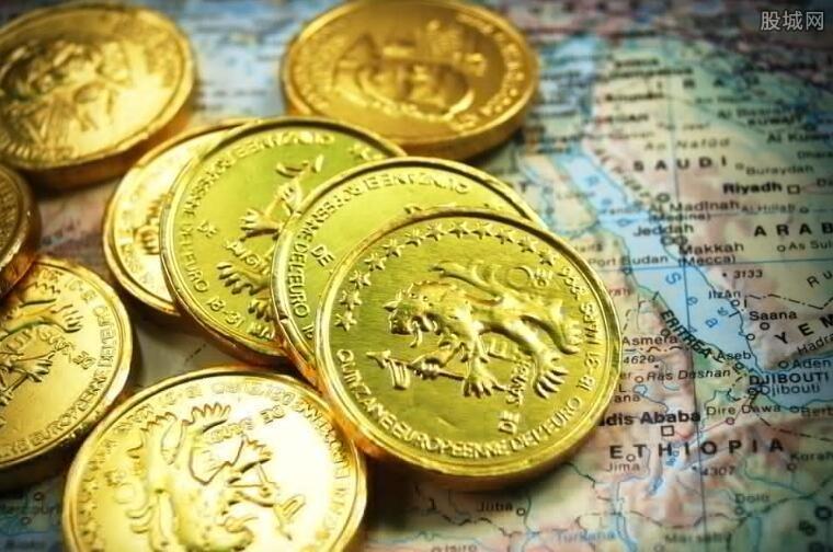 美股黄金板块拉涨2.85% 哈莫尼黄金(HMY)涨8%
