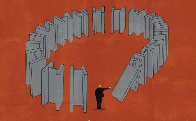 ▲贸易战是破坏性的。(美国《纽约时报》)