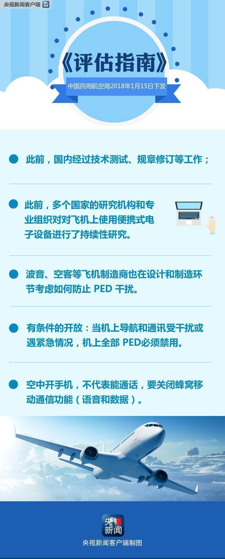 """2月1日起""""春秋航空""""航班可使用飞行模式手机"""