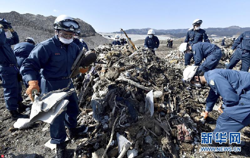 日本3.11大地震2539人失踪 7年后搜寻仍在继续