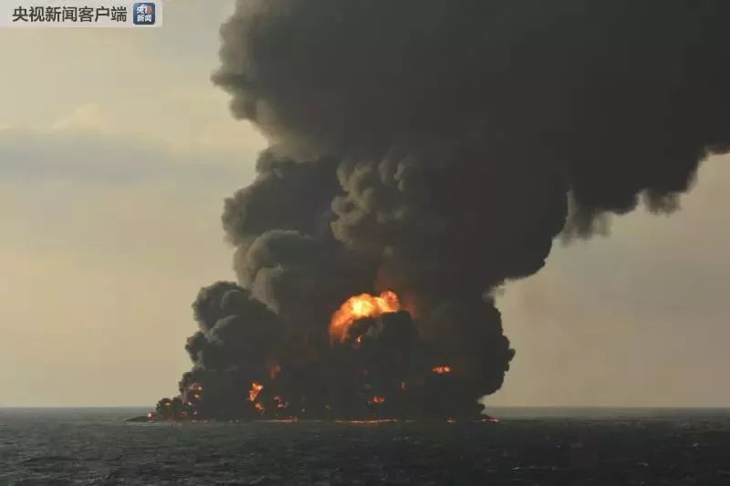 """突发!""""桑吉""""轮在东海上发生爆炸沉没!"""