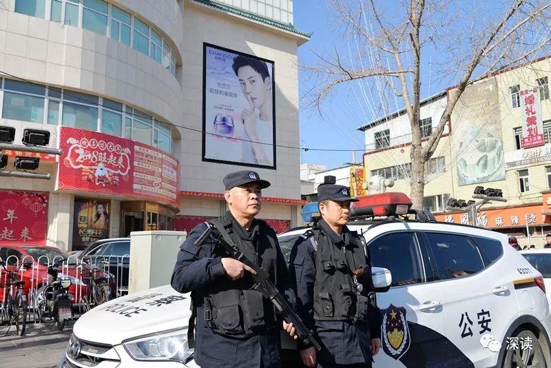 北京公安在人流集中场所持续加大警力投入,强化公开震慑等工作力度