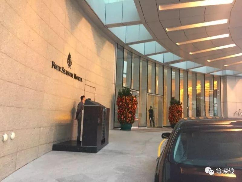 香港四季酒店。 《等深线》记者 周远征 摄影