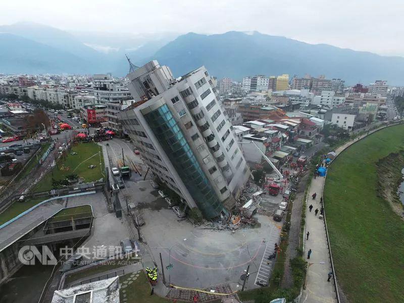 台湾花莲地震已致6死256伤88人失联,陆客4轻伤1重伤1人病危