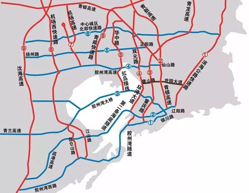 """( """"青岛观""""摄影师  柴迪成/摄) 本次规划突破胶州湾东岸框架,将胶州湾"""