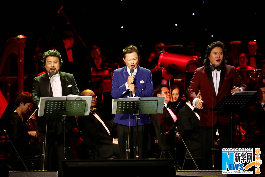 中国三大男高音北京新春音乐会 接地气唱通俗