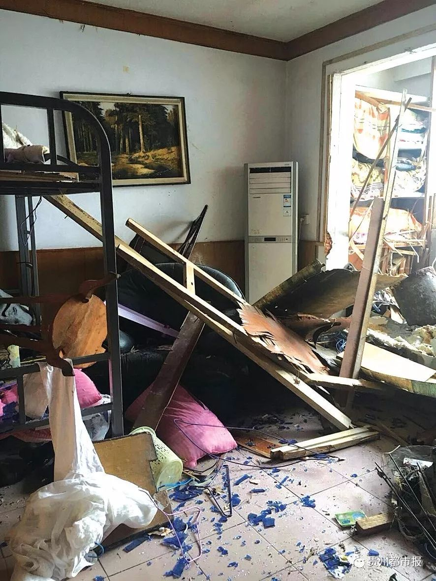 热水器爆炸门窗横飞 厂家:有维修痕迹不予赔偿