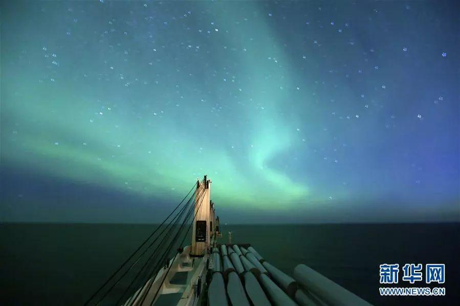 """▲资料图片:中国货船""""天健""""轮取道被称为""""冰上丝绸之路""""的北极东北航道,前往丹麦和俄罗斯的港口。"""