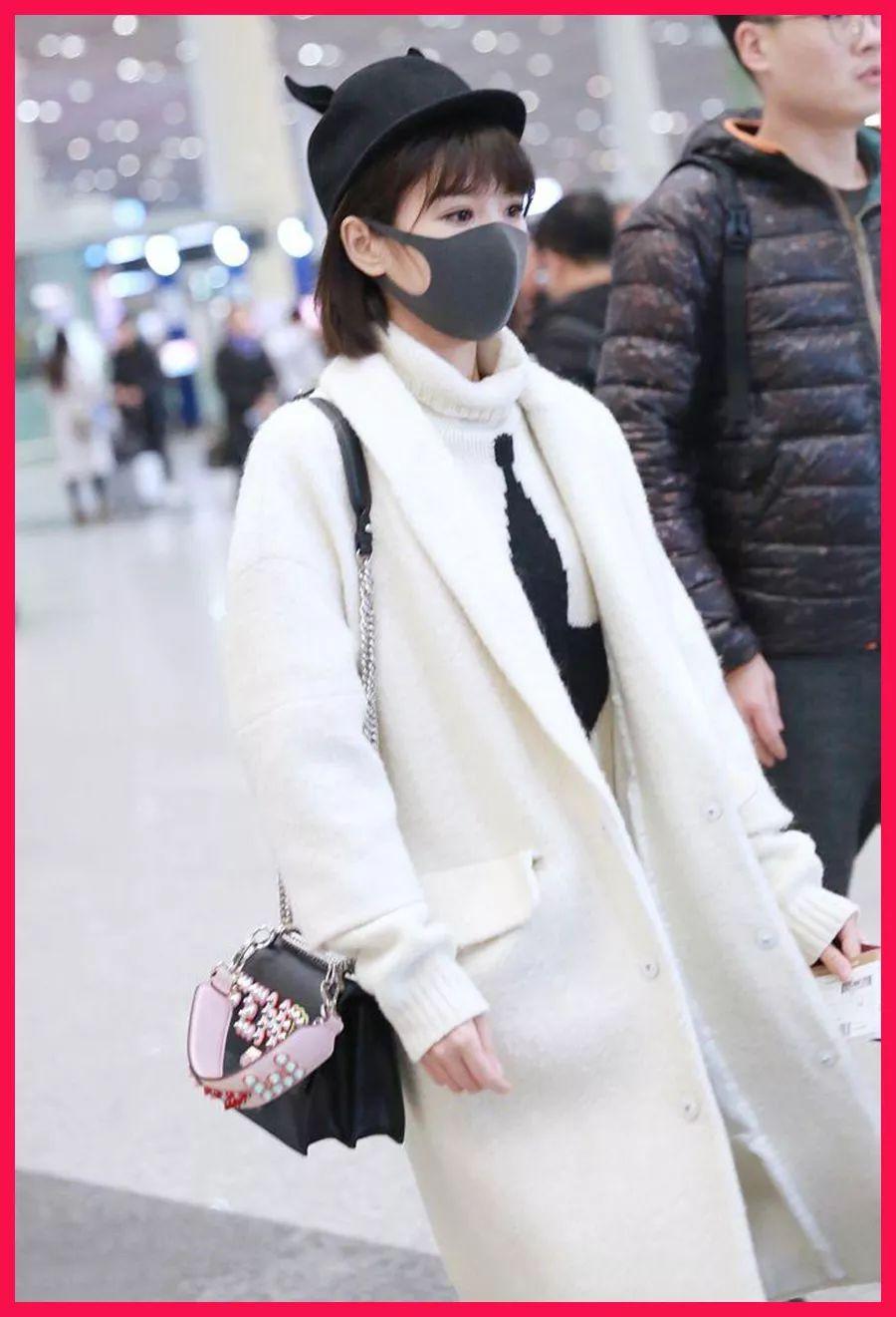周冬雨美背抢镜,刘诗诗天鹅颈真是美炸了!