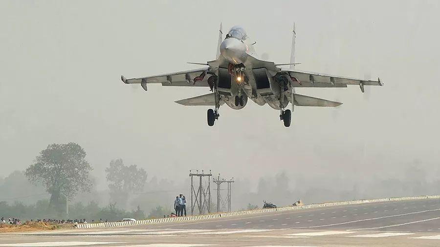 ▲印度空军苏-30战斗机(法新社)
