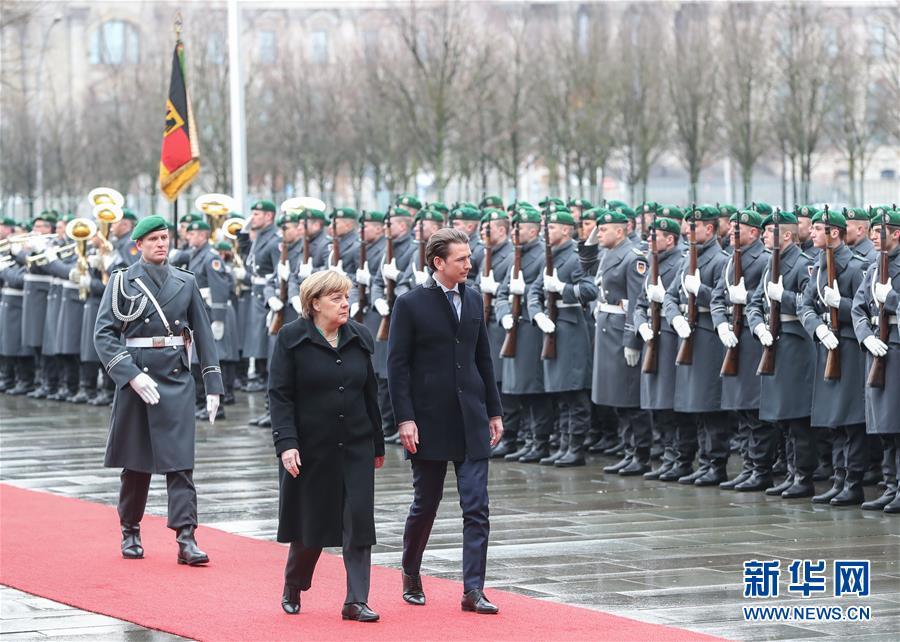 香港六合彩网站默克尔会见奥地利总理库尔茨