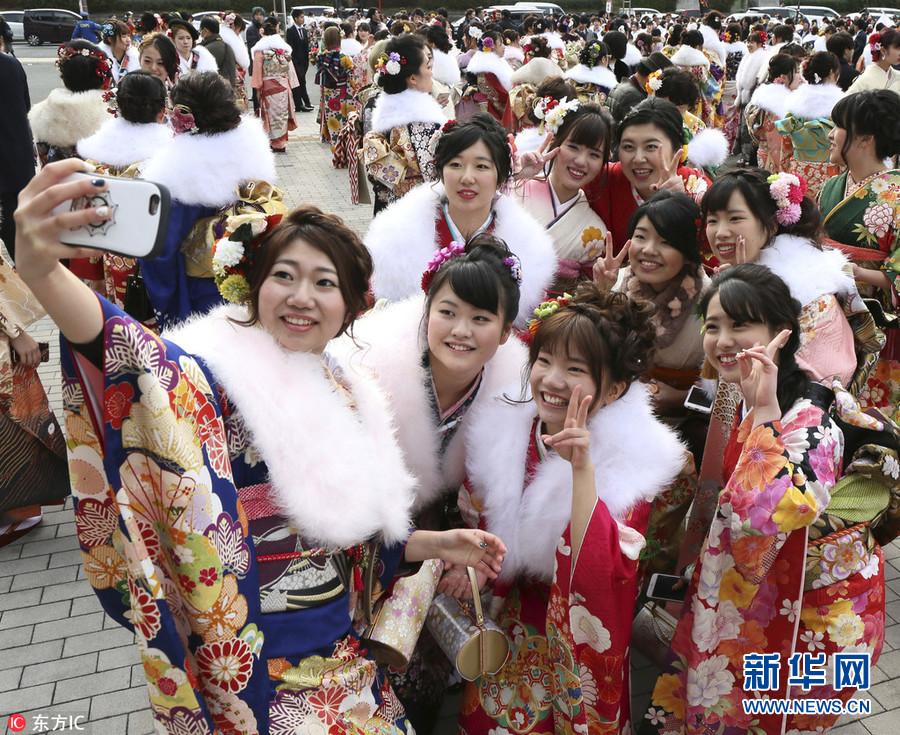 日本和服妹子出席