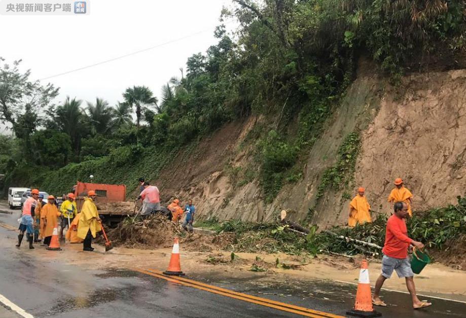 """菲律宾:台风""""启德""""引发山体滑坡 26人丧生"""