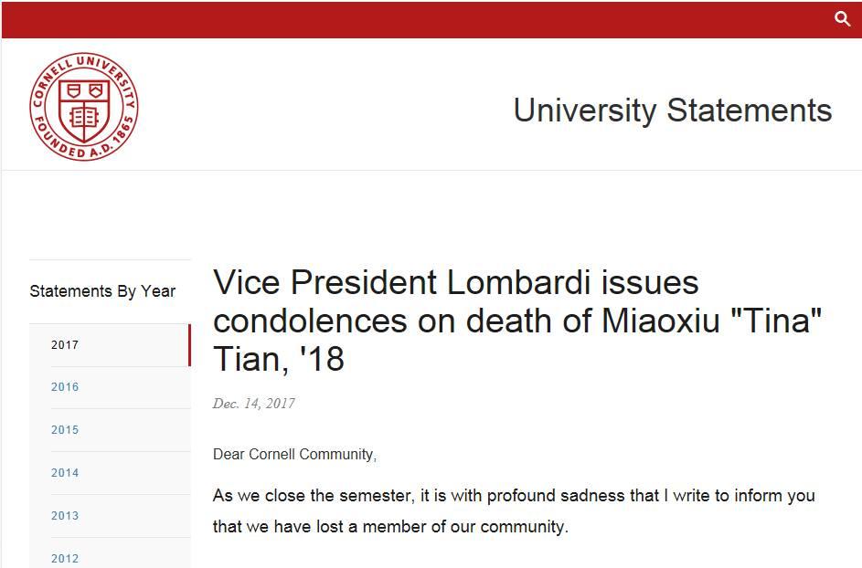 名校女留学生自杀:中国学霸到底有多大压力?
