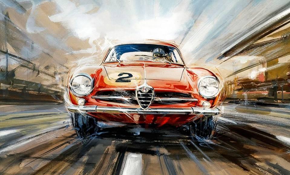 意大利汽车设计为什么强,那还得从50年代说起|聚侃