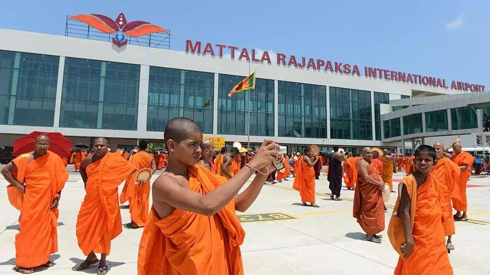 ▲汉班托塔的拉贾帕克萨国际机场(法新社)