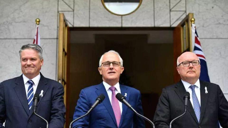 ▲12月5日,澳大利亚总理特恩布尔宣布将禁止外国政治献金。(澳大利亚联合新闻社)