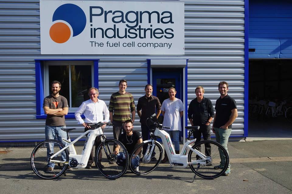 法新创公司推出氢动力自行车 高端路线一辆约6万