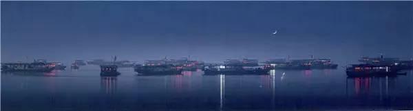 巢湖渔火 摄影:吴金生
