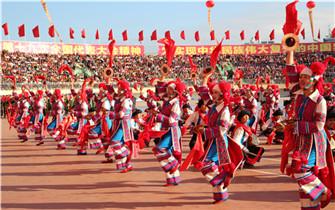红河州建州60周年庆祝大会圆满举行