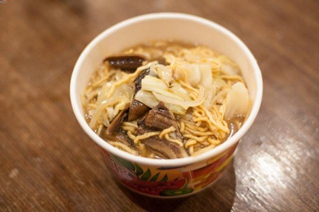 在台南一碗鳝鱼面