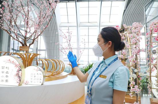 大兴机场航站楼提供免费游览服务 每日可预约3000人