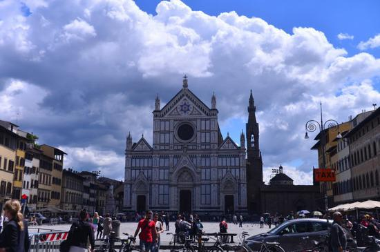 意大利的圣贤祠堂 文艺复兴大师们的安息地