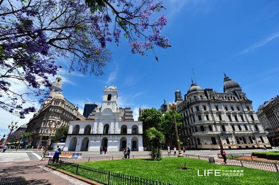 阿根廷之旅:五月广场和首都大教堂