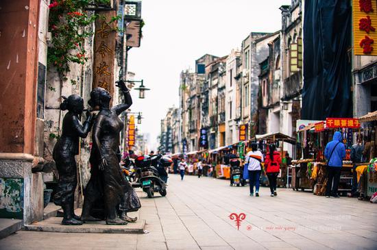 北海老街,女儿墙下的百年沧桑