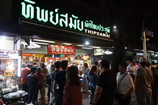 """为你推荐四家曼谷""""苍蝇馆""""  泰国总理都来解馋"""