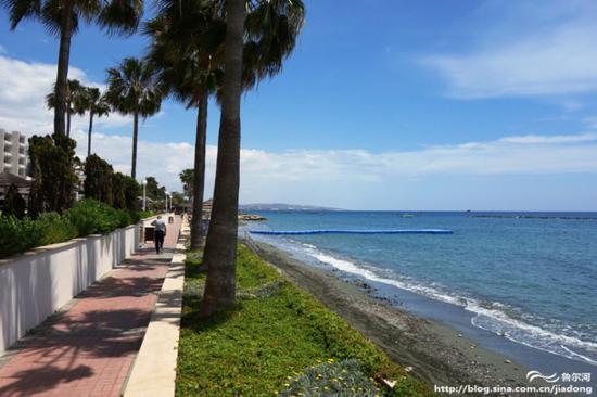 塞浦路斯 利马索尔海边漫步