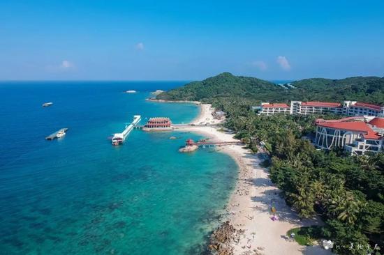 堪比马尔代夫的三亚离岛 亲子满分的原生态酒店