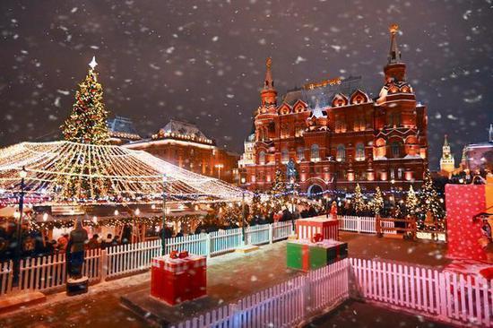莫斯科跨年,盛装下古老又现代的魅力都市