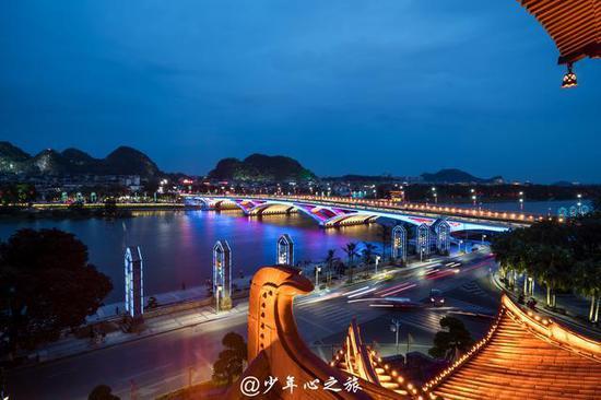 别只知阳朔山水,桂林市区这些景色也不差